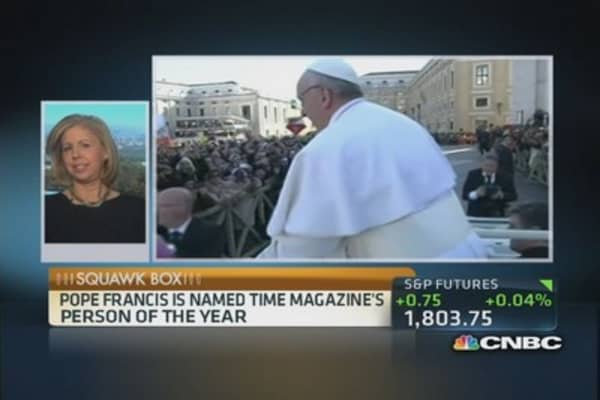 Time's 2013 Person of the Year: Pope Francis