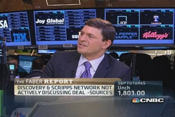 Faber Report: Discovery not discussing Scripps deal