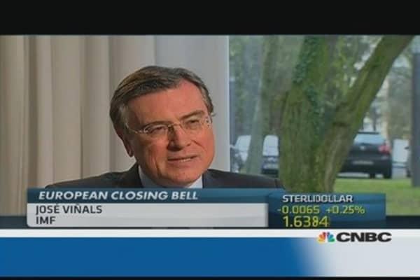 Europe's recovery is still weak: IMF