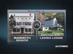 $1 million homes: Lavish Lodge vs. Mammoth Manor