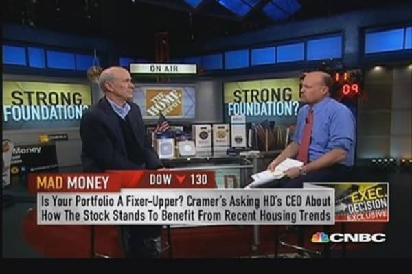 Home Depot CEO: Supply chain fairly felxible