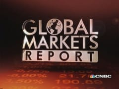 European markets close lower on taper worries