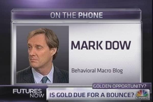 Mark Dow turns bullish on gold