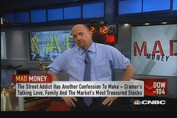 Cramer's quest for unconditionally loved stocks