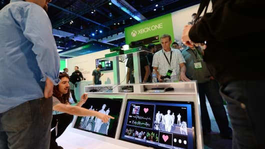 The new Kinect uses a 1080p color camera and an active infrared camera to allow for precise movement tracking.