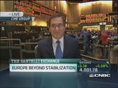 Santelli Exchange: Europe beyond stabilization