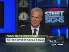 Chef Ripert: Feeding the hungry good food important