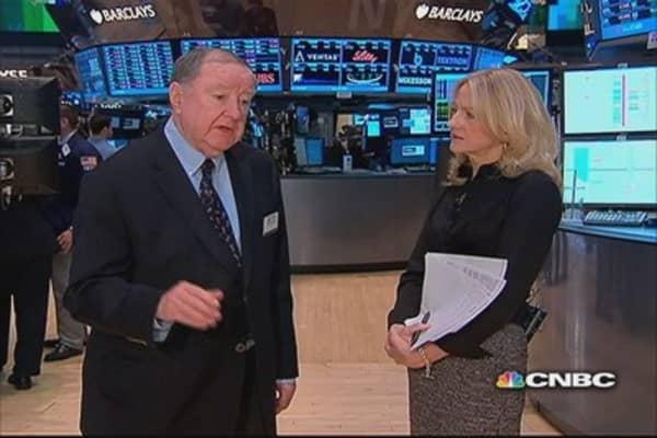 Cashin says: 10-year down, market up