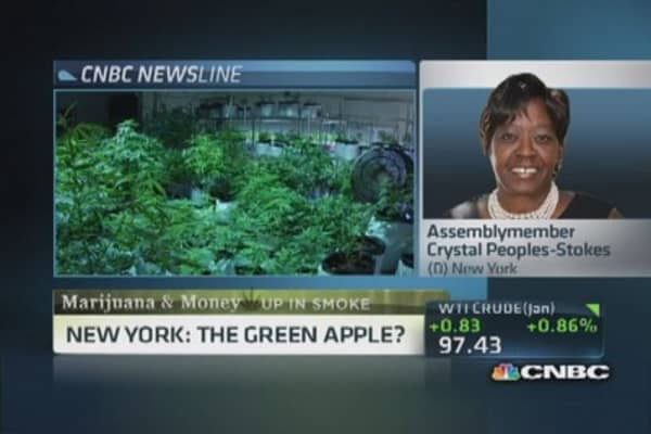 New York's marijuana legalization push