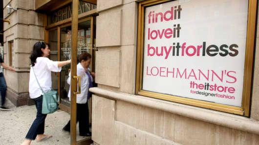 Loehmann's department store in the Chelsea neighborhood of New York.