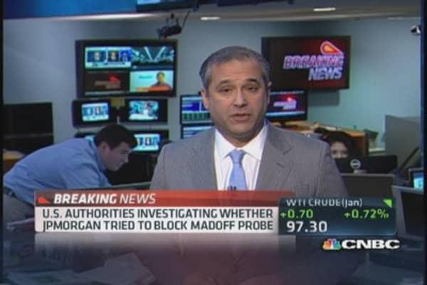 Feds investigating JPMorgan over Madoff probe