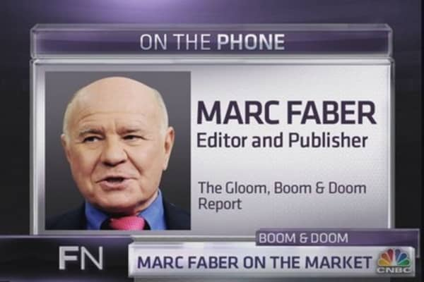 Marc Faber: Market to drop 20% in 2014