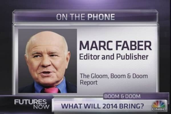 Marc Faber: Go into cash