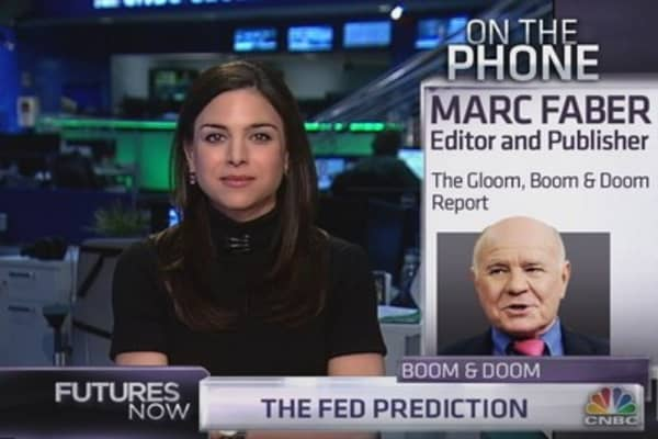 Marc Faber: The Fed will never end QE