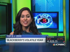 Top 5 'Power Lunch' stories: BlackBerry's death spiral