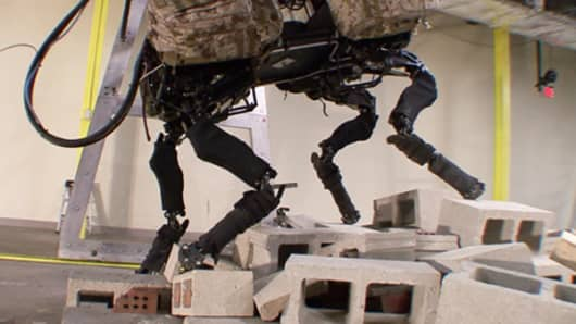 BigDog robot by Boston Dynamics
