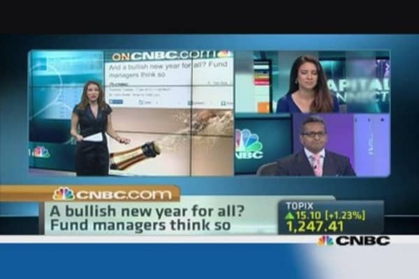 A bullish new year for all? Fund managers think so