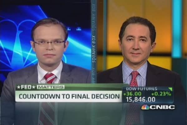 Data indicates Fed should taper: Pro