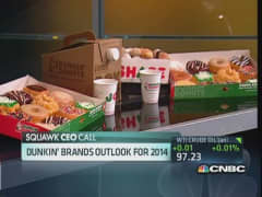 Dunkin' Brands CEO on expansion plans