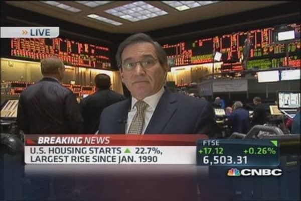 November housing starts up 22.7 percent