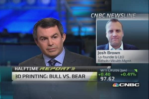 3D printing: Bull vs. bear
