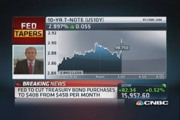 Fed to begin taper