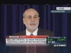 Bernanke: Will modestly reduce purchases pace