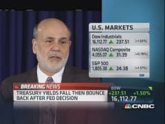 Bernanke: Fed was slow to recognize crisis