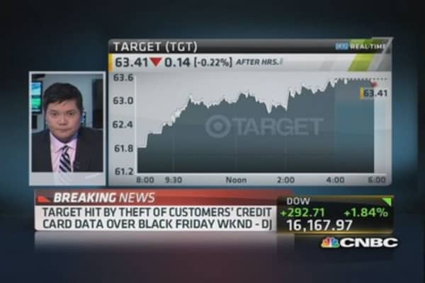 Target credit card breach extensive: Dow Jones