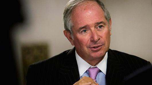 Steve Schwarzman, Chairman and CEO of Blackstone Group LP.