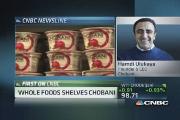 Chobani CEO: Committed to making better food