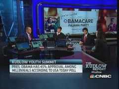 Kudlow youth summit: Obamacare's pajama party