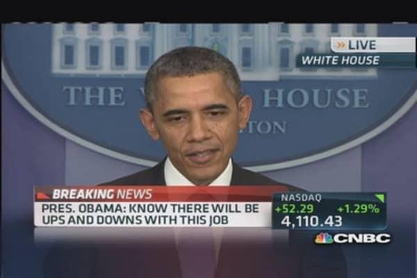 President Obama: Healthcare.gov 'source of great frustration'