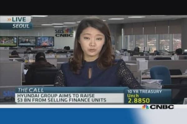 Hyundai embarks on $3 billion cash raising plan