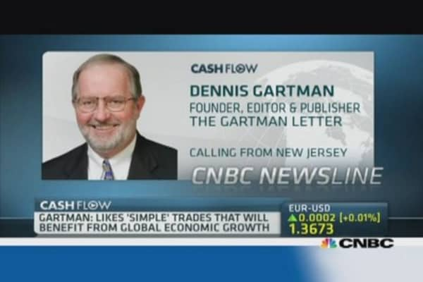 Gartman: Remain bullish on US stocks