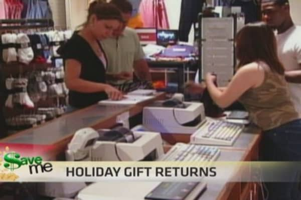 $ave Me: Holiday gift returns