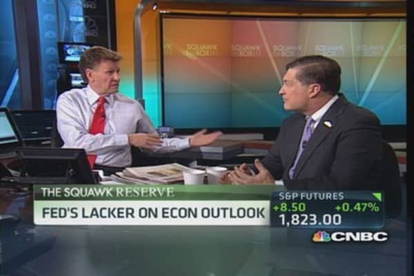 Fed has no interest in stopping bitcoin: Lacker