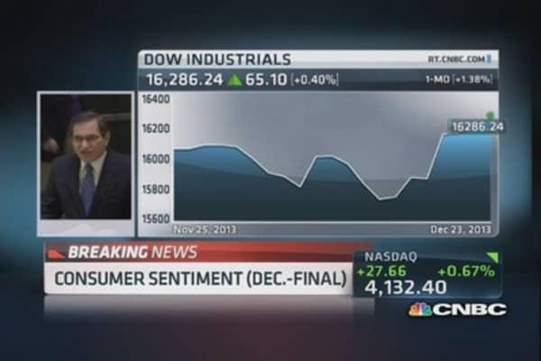December consumer sentiment: 82.5