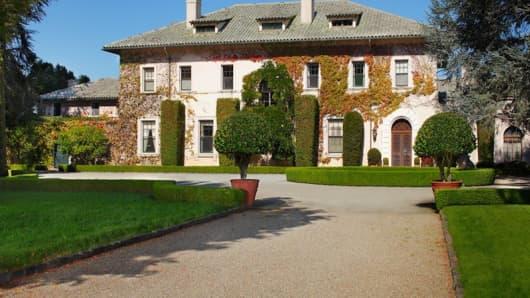 The De Guigne Estate, Hillsborough, Calif.