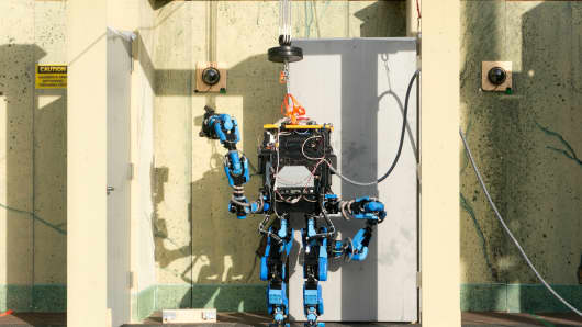 Schaft S-One at Darpa Robotics Challenge