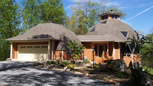 A dome home in Fairfield, Va.
