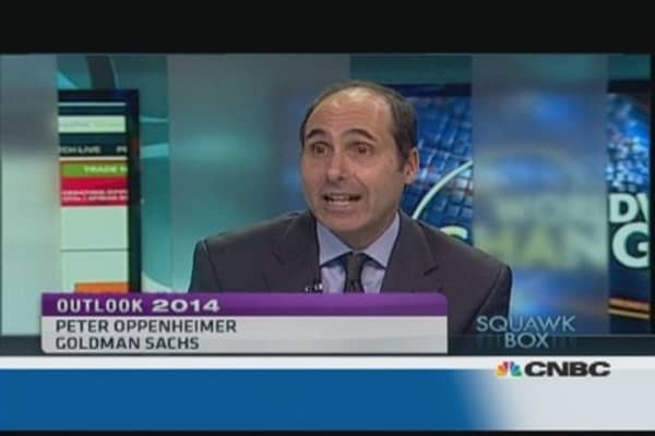 Equities will grow on fundamentals in 2014: Goldman