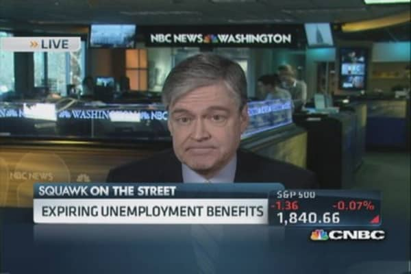 Expiring unemployment benefits