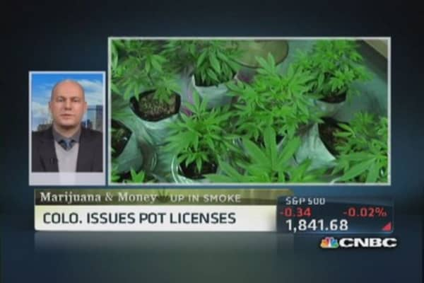 Colorado rolls with retail marijuana