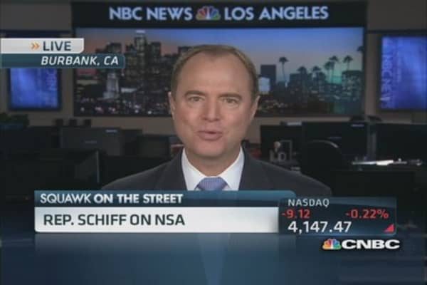 Proposing vast array of privacy reform: Rep. Schiff