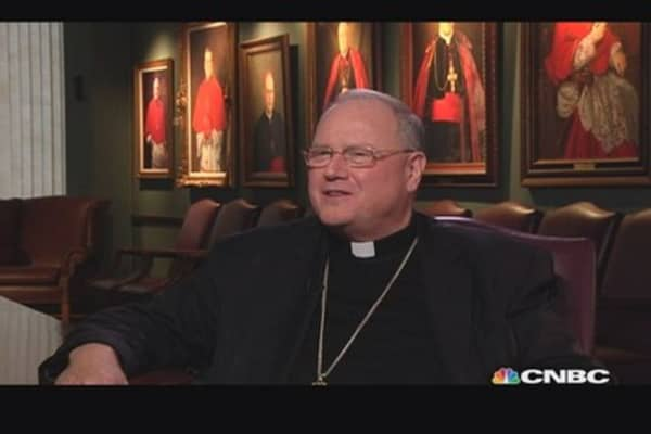 Cardinal Dolan on the wealthy & capitalism