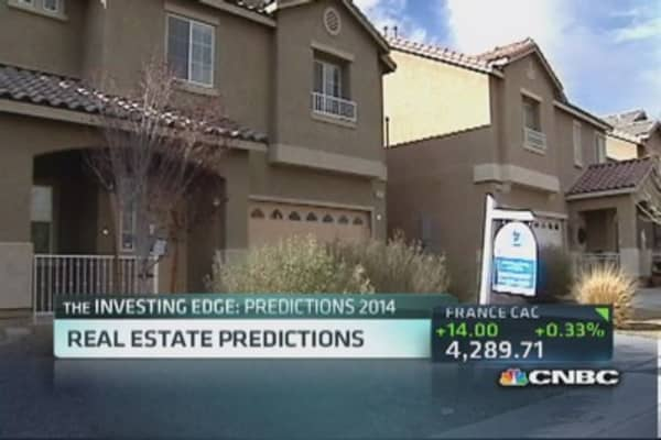 Real estate predictions for 2014