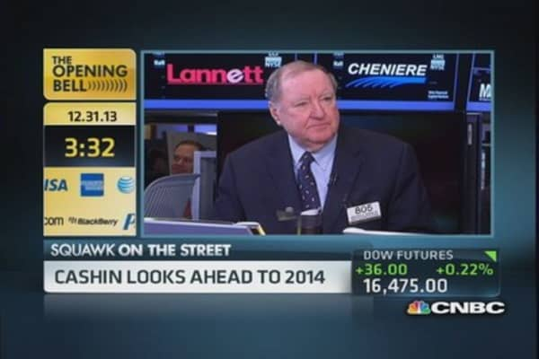 Cashin's market surprise for 2014: Bonds