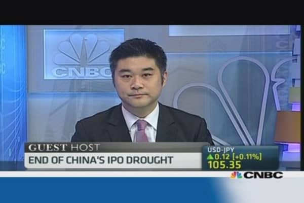 What does the end of China's IPO drought mean for markets?