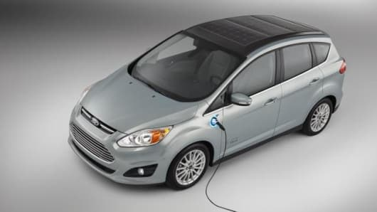 Ford developed the solar powered car for everyday use